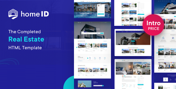 [Free Download] HomeID – Real Estate HTML Template (Nulled) [Latest Version]