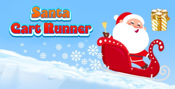 [Free Download] Santa Cart Runner (CAPX and HTML5) Christmas Game (Nulled) [Latest Version]