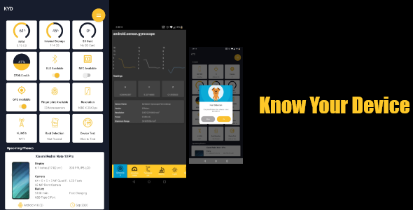 [Free Download] Know your Device- Android Device infromation (Nulled) [Latest Version]