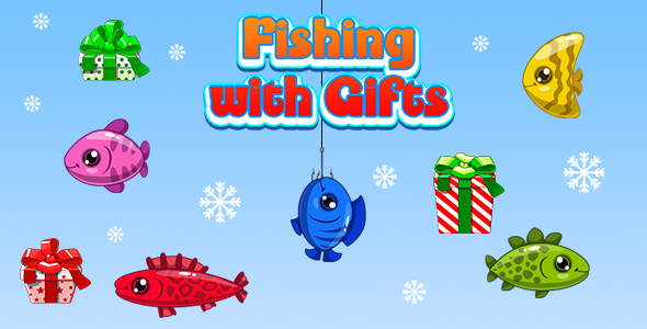 [Free Download] Fishing with Gifts (CAPX and HTML5) Christmas Game (Nulled) [Latest Version]