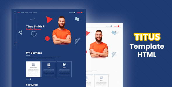 [Free Download] Titus – Personal Resume HTML Template (Nulled) [Latest Version]