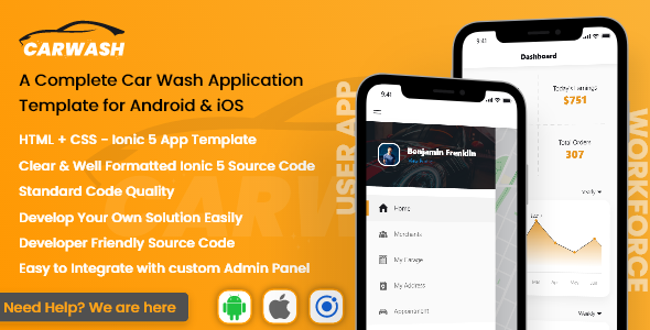 [Free Download] Carwash – Car Repair App Template | Ionic 5 | Android Ios (Nulled) [Latest Version]