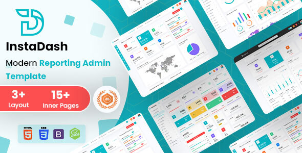 [Free Download] Instadash – Reporting Admin Dashboard HTML + SCSS (Nulled) [Latest Version]