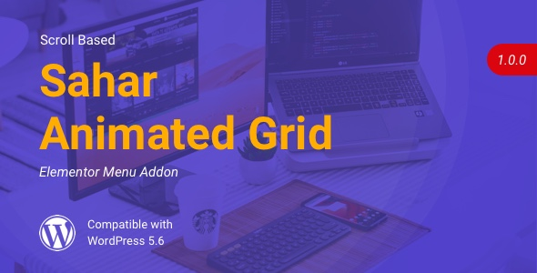 [Free Download] Sahar Animated Grid | Elementor Image Grid (Nulled) [Latest Version]