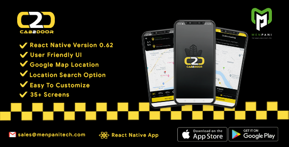 [Free Download] Cab2door Online Taxi Booking App Template (Nulled) [Latest Version]