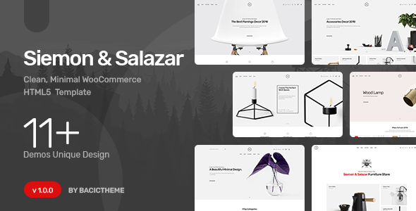 [Free Download] Siemon – Clean Minimal eCommerce HTML5 Template (Nulled) [Latest Version]
