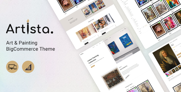 [Free Download] Artista – Stencil BigCommerce Art Gallery Template (Nulled) [Latest Version]