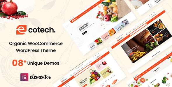 [Free Download] Ecotech – Organic, Food, Multipurpose WooCommerce Theme (Nulled) [Latest Version]