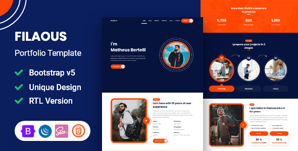 [Free Download] Filaous – Portfolio Template (Nulled) [Latest Version]