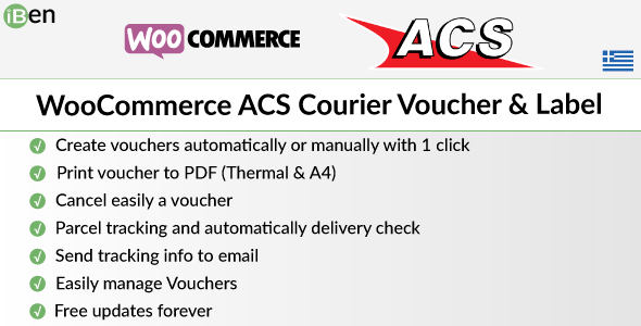 [Free Download] WooCommerce ACS Courier Voucher & Label (Nulled) [Latest Version]
