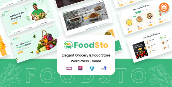 [Free Download] Foodsto : Grocery & Food Store WordPress Theme (Nulled) [Latest Version]