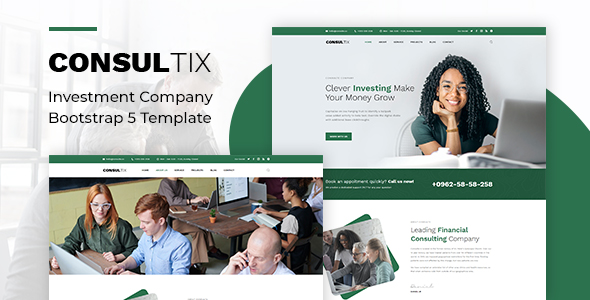 [Free Download] Consultix – Investment Company Bootstrap 5 Template (Nulled) [Latest Version]