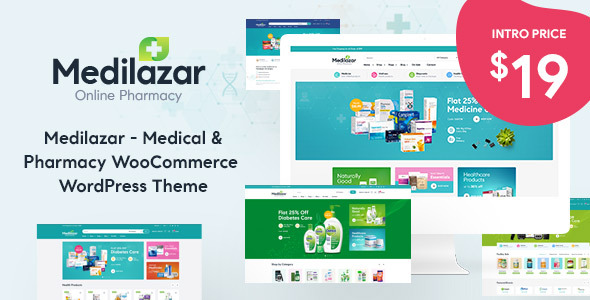[Free Download] Medilazar – Pharmacy WooCommerce WordPress Theme (Nulled) [Latest Version]