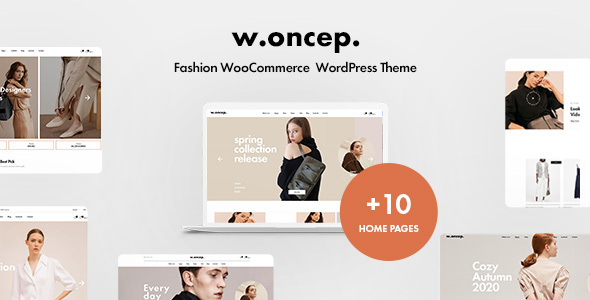 [Free Download] Woncep – Fashion WooCommerce WordPress Theme (Nulled) [Latest Version]