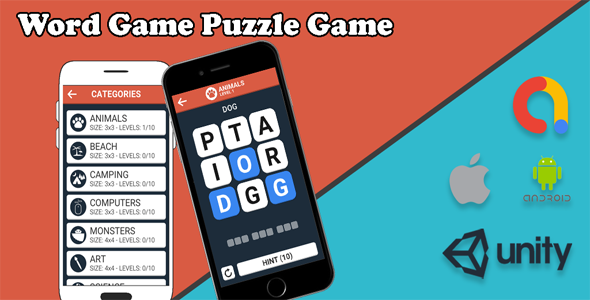 [Free Download] Word Game Puzzle Game – Android Game and iOS Game (Nulled) [Latest Version]