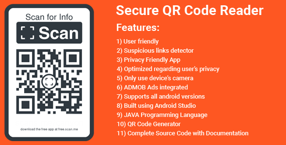 [Free Download] QR & Barcode Scanner and Generator app (Nulled) [Latest Version]