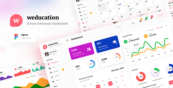 [Free Download] Weducation – Clean Dashboard UI Template Figma (Nulled) [Latest Version]