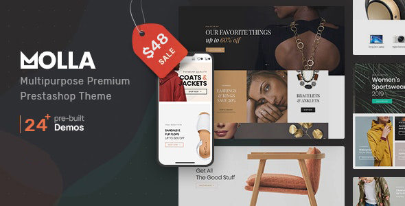 [Free Download] Molla | Multi-Purpose Prestashop Theme (Nulled) [Latest Version]