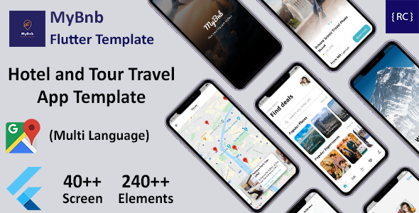 [Free Download] Flutter Hotel Booking and Tour Travel App Template in Flutter | Multi Language | MyBnb (Nulled) [Latest Version]