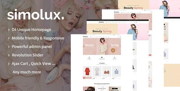 [Free Download] Simolux – Multipurpose Shopify Sections Theme (Nulled) [Latest Version]