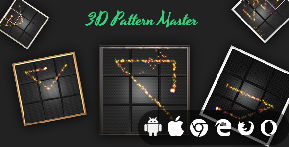 [Free Download] 3D Pattern Master – Cross Platform Addictive Casual Game (Nulled) [Latest Version]