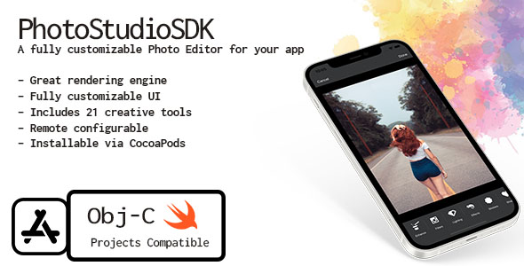 [Free Download] Photo Studio SDK – A powerful Image Editor Library for iOS (Nulled) [Latest Version]