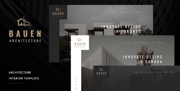 [Free Download] BAUEN – Architecture & Interior Template (Nulled) [Latest Version]