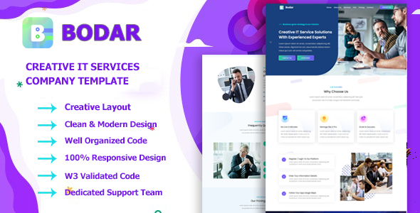[Free Download] Bodar – Business & IT Company HTML5 Template (Nulled) [Latest Version]