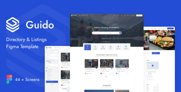 [Free Download] Guido – Directory & Listing Figma Template (Nulled) [Latest Version]