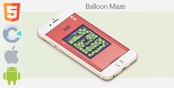 [Free Download] Balloon Maze – HTML5 Game (Construct 3 / c3p) (Nulled) [Latest Version]