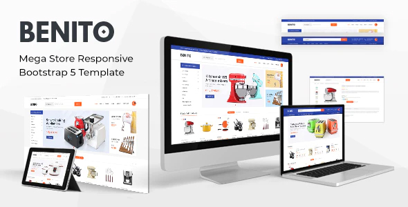 [Free Download] Benito – Mega Store Responsive Bootstrap 5 Template (Nulled) [Latest Version]