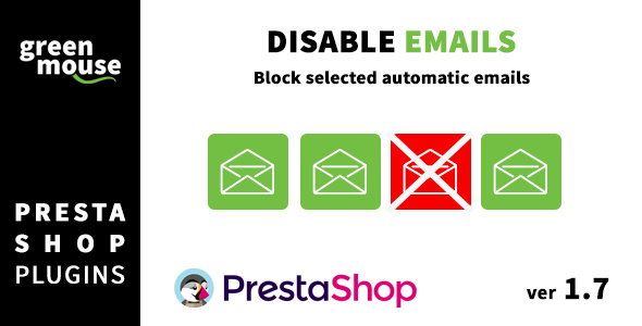 [Free Download] Disable selected automatic Prestashop emails (Nulled) [Latest Version]