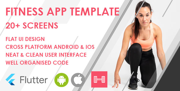 [Free Download] Flutter Fitness App Template (Nulled) [Latest Version]