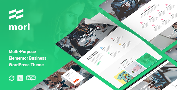 [Free Download] Mori – Business Corporate WordPress Theme (Nulled) [Latest Version]