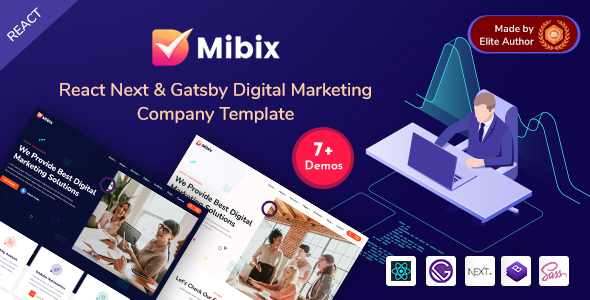 [Free Download] Mibix – Gatsby & NextJS Startup Template (Nulled) [Latest Version]