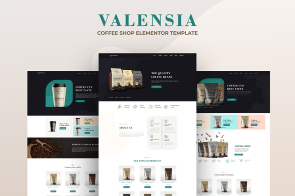 [Free Download] Valensia | Coffee Shop Elementor Template Kit (Nulled) [Latest Version]