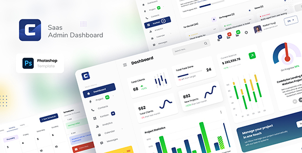 [Free Download] Codebyte – Saas Admin Dashboard UI Template PSD (Nulled) [Latest Version]