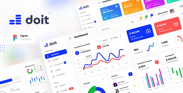 [Free Download] Doit – Personal Banking Admin Dashboard UI Template Figma (Nulled) [Latest Version]