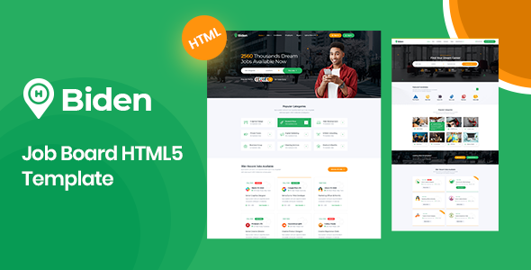 [Free Download] Biden – Job Board HTML5 Template (Nulled) [Latest Version]