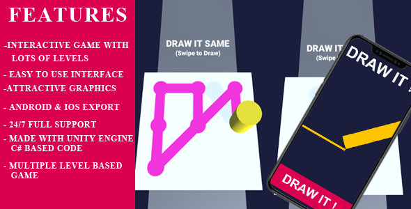 [Free Download] Draw line Paint Interactive android, ios Game (Nulled) [Latest Version]