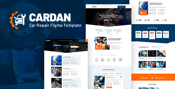 [Free Download] Cardan – Car Repair Services Figma  Template (Nulled) [Latest Version]