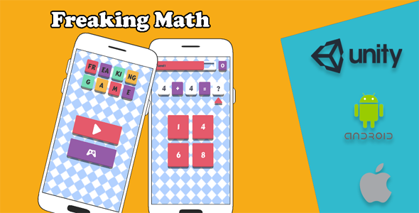 [Free Download] Freaking Math – Math Game Android and iOS Game (Nulled) [Latest Version]