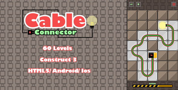 [Free Download] Cabble Connector – HTML5 Game (Construct 3) (Nulled) [Latest Version]
