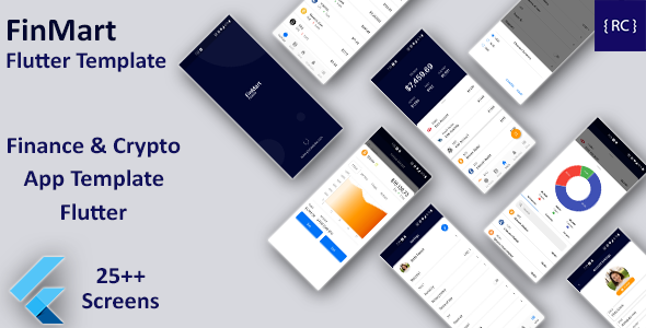 [Free Download] Crypto App Android + Crypto App iOS Template | Finance & Crypto App Template Flutter | FinMart (Nulled) [Latest Version]