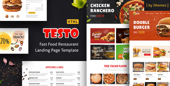 [Free Download] Testo – Pizza Caffe Restaurant HTML Template (Nulled) [Latest Version]