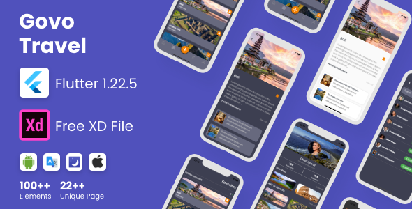 [Free Download] Flutter Govo Travel App in Flutter (Nulled) [Latest Version]