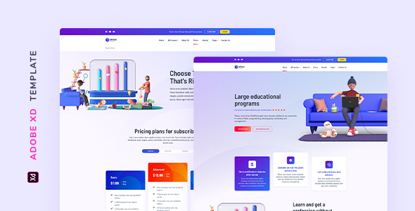 [Free Download] Edison – Online Education Template for XD (Nulled) [Latest Version]
