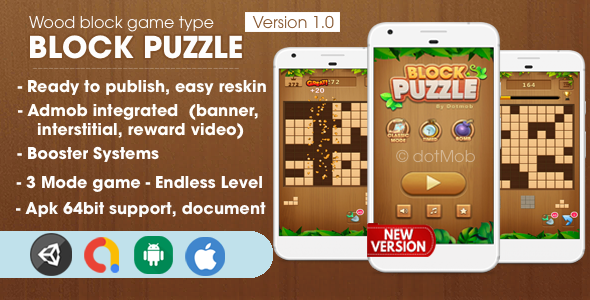 [Free Download] Block Puzzle – Unity Complete Project (Nulled) [Latest Version]