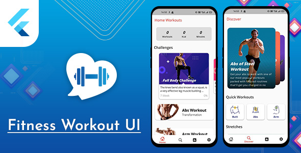 [Free Download] Flutter Fitness Workout UI with admob Template (Nulled) [Latest Version]