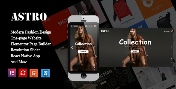 [Free Download] Astro – Fashion Ecommerce Shopping Theme (Nulled) [Latest Version]